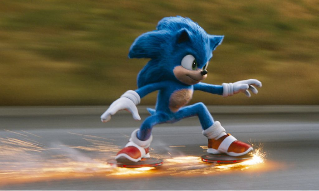 Filmas Ežiukas Sonic Online